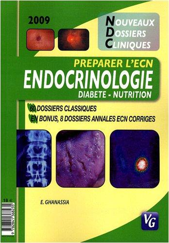 Endocrinologie : Diabète-Nutrition