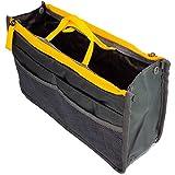 Menzy Multi Pocket Handbag Organizer for Women Purse - Travel Friendly Multi Storage