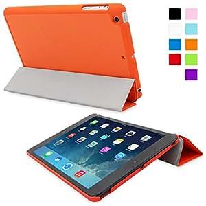Snugg iPad Mini & iPad Mini 2 Retina Ultra Thin Smart Case in Orange - Flip Stand Cover with Auto Wake and Sleep for Apple iPad Mini & iPad Mini 2 Retina
