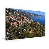 """Special-Edition der Leinwand """"Landschaft bei Capo Mortola"""" im Format """"75x50"""" als perfektes Geschenk oder als Dekoration für das Schlafzimmer, Büro oder Wohnzimmer.Die Hanbury Gärten an der ligurischen Riviera sind sowohl ein wunderschöner Park direkt..."""