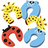 3 pcs Child Safety Door Stopper Cartoon for Kids and BabySafety