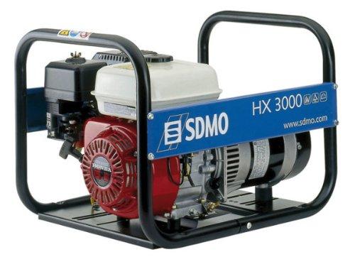 SDMO 620X3 - GRUPO ELECTROGENO GASOLINA 3 75KVA