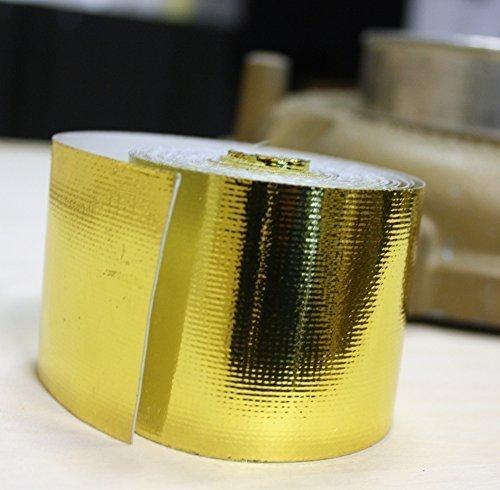 5m Hitzeschutzband Tape Band GOLD für Turbolader G60 G40 VR 16V DUB