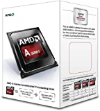 AMD AD6300OKHLBOX CPU (A4 6300 3.7GHz, SKT FM2, L2, 1MB, 65W, PIB)-Green and Black