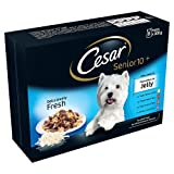 Best Cesar Dog Foods - Cesar Deliciously Fresh Senior Dog Pouches Mixed Selection Review