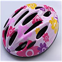 YHJNBGH Acogedor Casco Ciclismo de Seguridad para niños Casco Multiuso para niños para Ciclismo y Deportes al Aire Libre (Rosa)