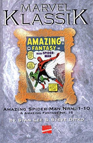 *Verlagsvergriffen* DISNEY MARVEL KLASSIK Comic # 1 (Hardcover): AMAZING SPIDER-MAN Nr.1-10 & AMAZING FANTASY # 15 (Amazing Spider Man-marvel Now)