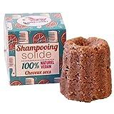 Lamazuna 100% Natural Vegan Solid Shampoo Dry Hair by Lamazuna