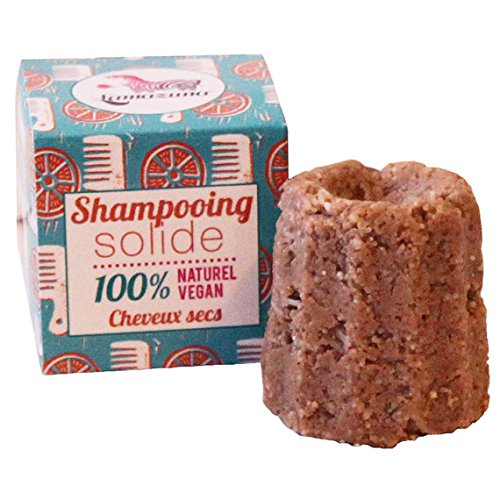 LAMAZUNA Shampooing solide Cheveux secs - 55g