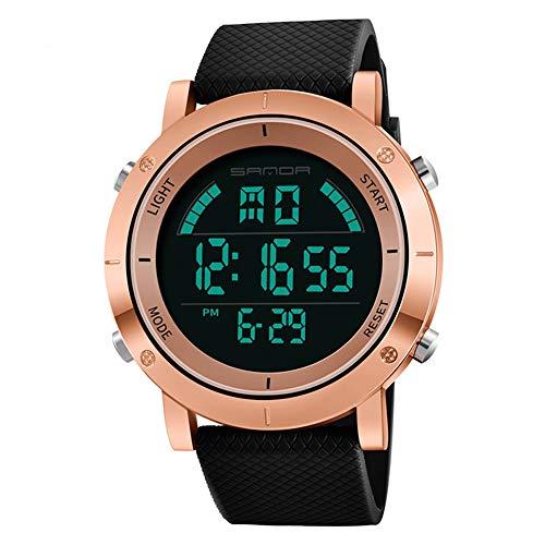 Fashion Sports Herren Stoppuhr Digital Woche Datum Alarm Hintergrundbeleuchtung Armbanduhr Geschenk