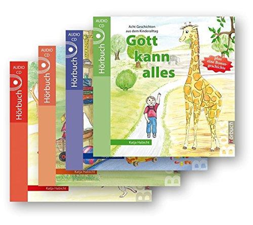 Gott kann alles-Hörbuchreihe im Set (4 Audio-CDs): Geschichten aus dem Kinderalltag (Gott kann alles-Reihe)
