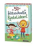 Moses 50 blitzschnelle Bastelideen | Kinderbeschäftigung | Kartenset