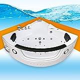 Whirlpool Pool Badewanne Eckwanne Wanne A1505H-ALL 140x140cm Reinigungsfunktion, Selfclean:ohne +0.-EUR