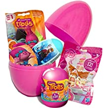 Trols temáticas de huevo sorpresa con Frozen & My Little Pony gran sorpresa huevo
