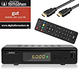 Xaiox Anadol 111c digitaler Full HD Kabel-Receiver [Umstieg Analog auf Digital] inkl HDMI Kabel (HDTV, DVB-C / C2,...