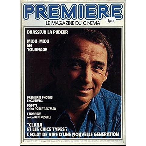 PREMIERE N°46 Magazine - 1981 - Claude