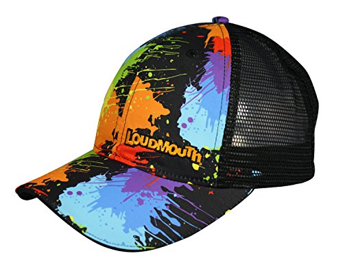 loudmouth-trucker-hat-paintballs-unisex