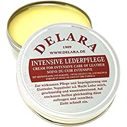 DELARA Protector intensivo de cuero 75 ml, color: incoloro – Made in Germany