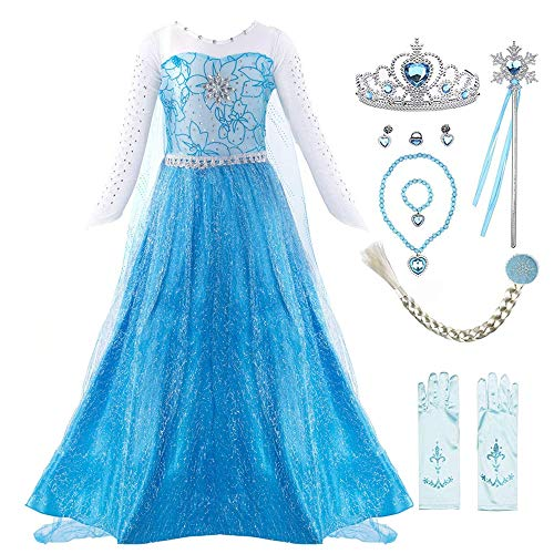 Up Kleid Baby Kostüm Mädchen - Fanient Mädchen Prinzessin Kleid Dressing up Party Queen Halloween Karneval Cosplay Kostüm Kostüm mit Zubehör