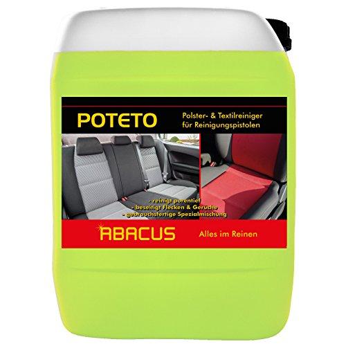 POTETO Tornador-Reiniger 10 Liter Polster- & Textilreiniger gebrauchsfertig (1320.10) - Polsterreiniger Teppichreiniger - ABACUS