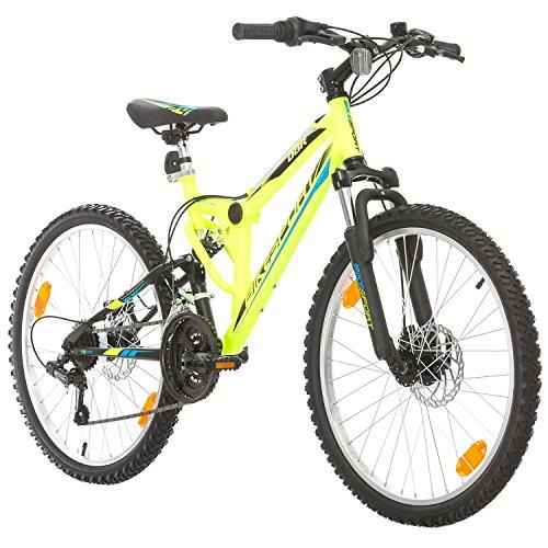 Bikesport PARALLAX 24' Bicicletta Bambini Biammortizzata Doppia sospensione