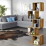 CAGÜ Exklusives Regal Bücherregal [Agra] SHEESHAM Massiv Holz Gewachst 150cm x 50cm, Neu