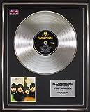 THE BEATLES/Limitierte Edition Platin Schallplatte/FOR SALE