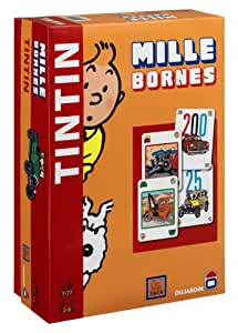 dujardin 59029 jeu de soci t 1000 bornes tintin jeux et jouets. Black Bedroom Furniture Sets. Home Design Ideas