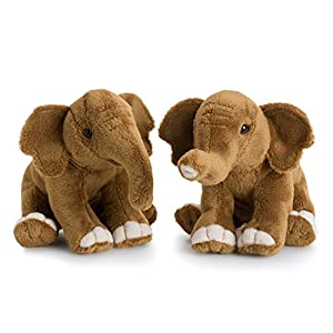 WWF-Peluche de Elefante asies Modelo Aleatorio, 15193017, 18cm
