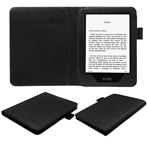 ACM Executive Flip Flap Case for Kindle 6 Tablet Cover Black
