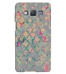 Citydreamz Colorful Broken Pieces Hard Polycarbonate Designer Back Case Cover For Samsung Galaxy Grand Neo/Grand Neo Plus I9060