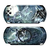 Sony PSP Street Skin für E1000 / E1004 Design Schutzfolie + Wallpaper - Bark at the Moon
