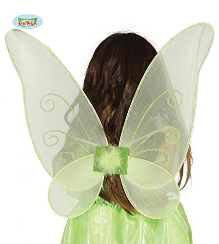 Fiestas Guirca GUI16362 - grüne Schmetterlings-Flügel, 46 - Halloween-kostüm Tinkerbell Amazon
