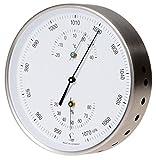LUFFT Wetterstation - Barometer, kombiniert mit Bimetall-Thermometer und Hygrometer Ø 130 mm
