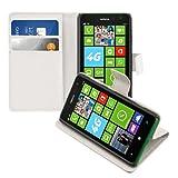 kwmobile Nokia Lumia 625 Custodia Portafoglio - Cover a Libro in Simil Pelle - Flip Case con Porta Carte per Nokia Lumia 625