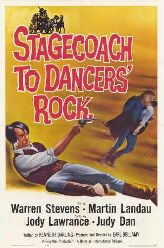Stagecoach to Dancers Rock Plakat Movie Poster (27 x 40 Inches - 69cm x 102cm) (1962)