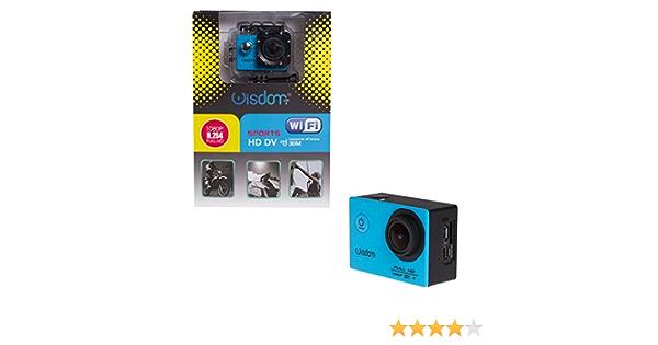 Wisdom Action Camera Waterproof 1080p Hd Dv 12 Mp Wifi Waterproof 30 M Full Hd Accessory Kit Sport Freizeit