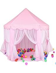 LD-Jeu de plein air intérieur Fairy Princess Castle Tent Divertissement portable Perfect Hexagon Grand jouets Playhouse pour les enfants