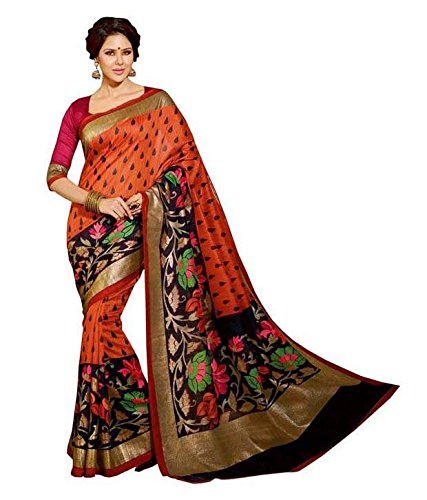 Winza Designer Cotton Saree with Blouse Piece (1133 silk partywear design sari...