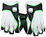 #10: RS Robinson Limited Edition Wicket Keeping Gloves (Men, White, Green)