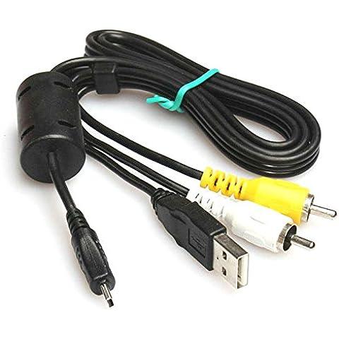 Keple | cavo USB UC-E6AV Audio Video Cavo per Pentax