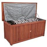 Auflagenbox Washington Holzkiste für Gartenauflagen Auflagenkiste aus Akazie geölt