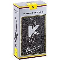 Vandoren SR615 - Caja de 10 cañas v12 n.5 para saxofón alto