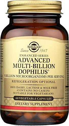 Solgar Multi-Billion Dophilus Avanzado Cápsulas vegetales - Envase de 60