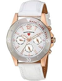 Swiss Legend Damen-Armbanduhr SL-16016SM-RG-02-SB-WHT