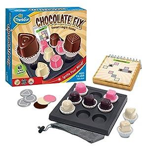 Think Fun Chocolate Fix Juego de Habilidad, Multicolor (Ravensburger 76330) , Modelos/colores Surtidos, 1 Unidad