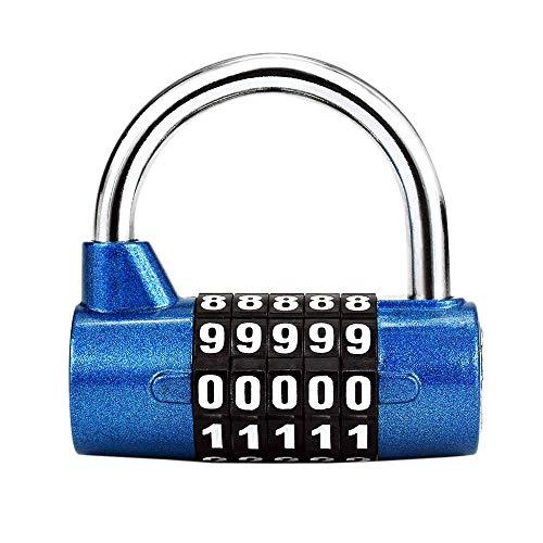 LHKJ Candado de Seguridad Bloqueo de Código