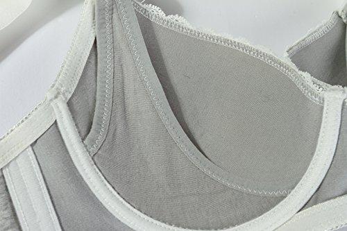 Cimary Mama Confortable Soutien-Gorge D'allaitement Maternité Allaitement Armatures 2PACK Bleu+Girs