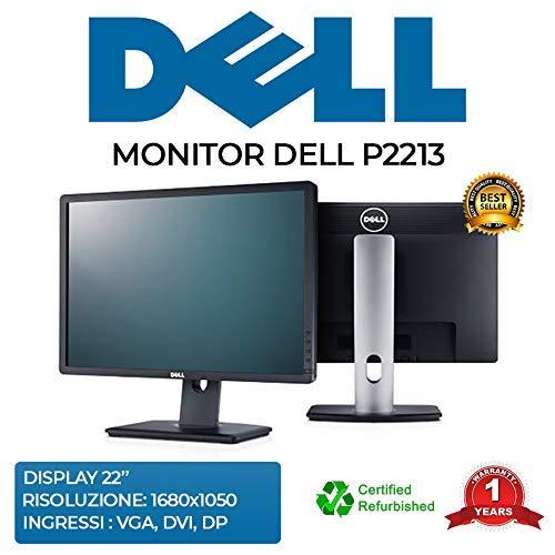 Monitor DELL P2213 Pivot 1680 x 1050 Rücklicht LED HUB USB (Nachrichtung)