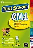 Tout Savoir CM1 - Réviser toutes les matières